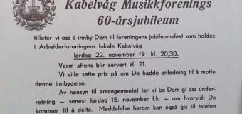 Invitasjon til 60-års jubileet (1947)