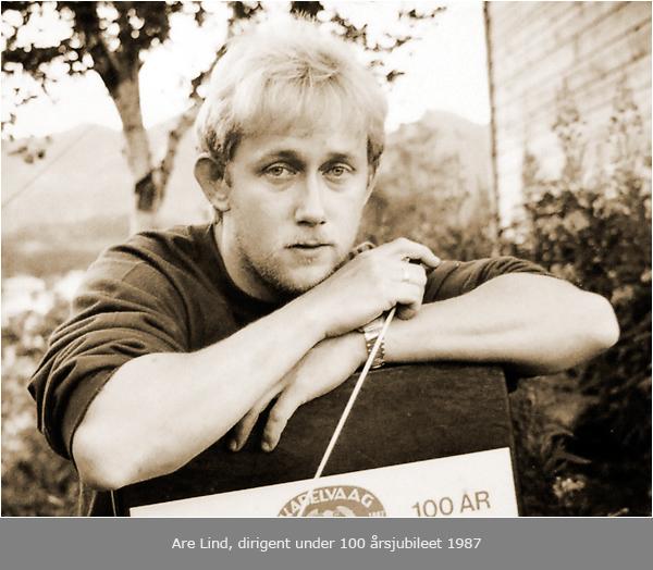 Drømte som guttunge om å bli KMF's dirigent (1987)