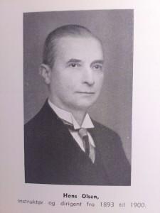 Hans Olsen 1893-1900