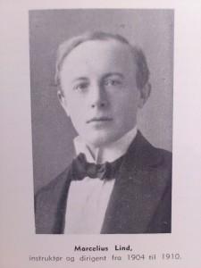 Dirigent Marcelius Lind 1904-1910