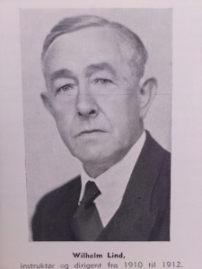 Dirigent Wilhelm Lind 1910-1912