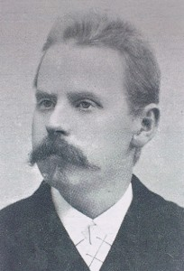 1. KMFs første Formann Boktrykker Øyvind I.Bergh 1887-1899