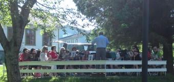 2011: Parkkonsert med Holmstad skole og amatørkorps
