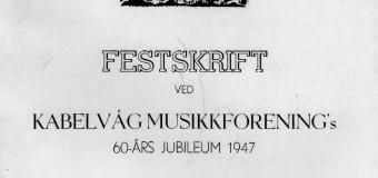 Festskrift 1947